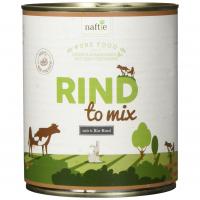 Nassfutter naftie Bio Hundefutter Rind to Mix