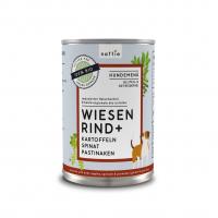 Nassfutter naftie Bio Wiesen Rind+