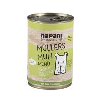Nassfutter Napani Müllers MUH mit Rind & Kartoffeln