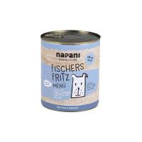 Nassfutter Napani Purinarmes Hundefutter Fischers Fritz mit Lachs & Quinoa