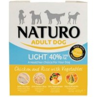 Nassfutter NATURO Adult Dog Light Chicken and Rice with Vegetables