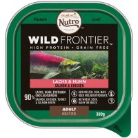 Nassfutter NUTRO Wild Frontier Adult Lachs & Huhn