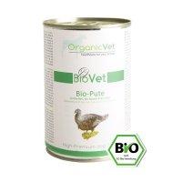 Nassfutter OrganicVet BIOVET Bio-Pute mit Bio-Reis, Bio-Karotte & Bio-Apfel