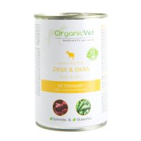 Nassfutter OrganicVet Single-Protein Ziege & Okra