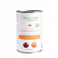 Nassfutter OrganicVet Veterinary Single-Protein Känguru und Naturreis