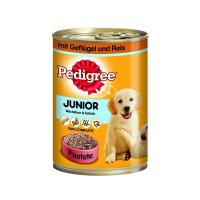 Nassfutter Pedigree Junior Geflügel & Reis