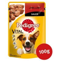 Nassfutter Pedigree Rind und Lamm in Sauce