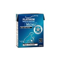 Nassfutter PLATINUM Menü Fish & Chicken