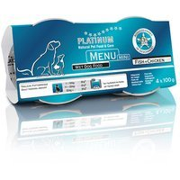 Nassfutter PLATINUM Menü Mini Fish & Chicken