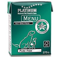 Nassfutter PLATINUM Pure Fish