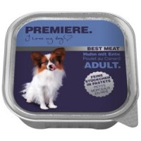 Nassfutter Premiere Best Meat Adult Huhn mit Ente