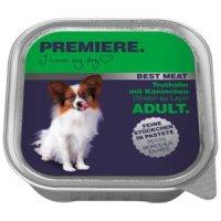 Nassfutter Premiere Best Meat Adult Truthahn mit Kaninchen
