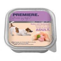 Nassfutter Premiere Finest Meat Adult Huhn mit Schinken
