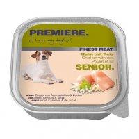 Nassfutter Premiere Finest Meat Senior Huhn mit Reis