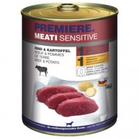 Nassfutter Premiere Meati Sensitive Rind und Kartoffel