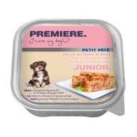 Nassfutter Premiere Petit Pâté Junior Geflügel & Rind