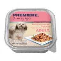 Nassfutter Premiere Petits Filets Kalb & Truthahn
