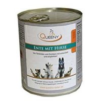 Nassfutter Queeny Hundefutter Ente mit Hirse