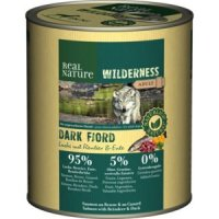 Nassfutter Real Nature Wilderness Dark Fjord Adult