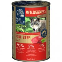 Nassfutter Real Nature Wilderness Pure Beef Adult