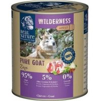 Nassfutter Real Nature Wilderness Pure Goat
