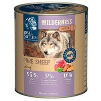 Nassfutter Real Nature Wilderness Pure Sheep