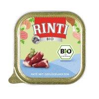 Nassfutter RINTI Bio Paté mit Geflügelherzen