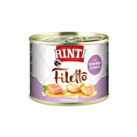 Nassfutter RINTI Filetto mit Huhnfilet mit Schinken in Sauce