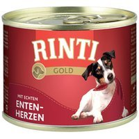 Nassfutter RINTI Gold Entenherzen
