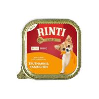 Nassfutter RINTI Gold Mini Truthahn & Kaninchen