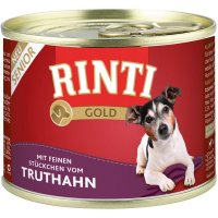 Nassfutter RINTI Gold Senior Truthahn