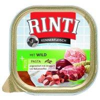 Nassfutter RINTI Kennerfleisch Plus Wild & Pasta
