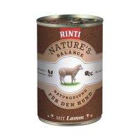 Nassfutter RINTI Nature's Balance Lamm & Reis