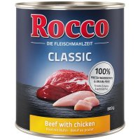 Nassfutter Rocco Classic Rind mit Huhn