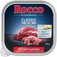 Nassfutter Rocco Classic Schale Rind & Kartoffel