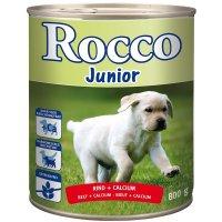 Nassfutter Rocco Junior Rind & Calcium