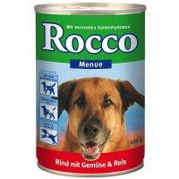 Nassfutter Rocco Menue Rind, Gemüse & Reis
