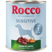 Nassfutter Rocco Sensitive Wild & Nudeln