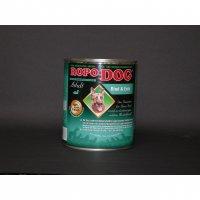 Nassfutter Ropodog Adult - 100% Fleisch (Rind & Ente)