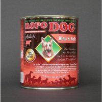 Nassfutter Ropodog Adult - 100% Fleisch (Rind & Kalb)
