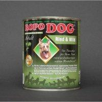 Nassfutter Ropodog Adult - 100% Fleisch (Rind & Wild)