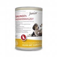 Nassfutter Salingo Welpenfutter Huhn mit Karotte & Calcium