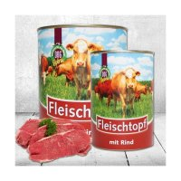 Nassfutter Schecker DOGREFORM Fleischtopf mit Rind