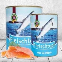 Nassfutter Schecker DOGREFORM Fleischtopf mit Seefisch