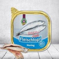 Nassfutter Schecker DOGREFORM Fleischtopf Schälchen-PUR Hering
