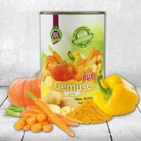 Nassfutter Schecker DOGREFORM Gemüse pur - gelb