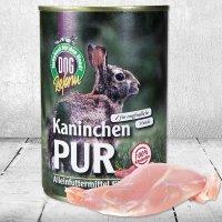 Nassfutter Schecker DOGREFORM Kaninchen Pur