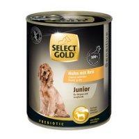 Nassfutter Select Gold Sensitive Junior Huhn & Reis