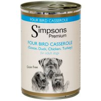 Nassfutter Simpsons Premium Four Bird Casserole