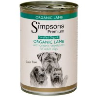 Nassfutter Simpsons Premium Organic Lamb